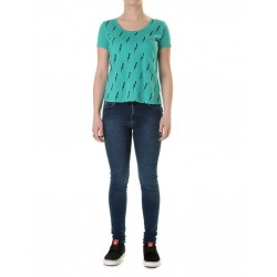 POCKET PRINT TEE GIRLS  ESMERALDA